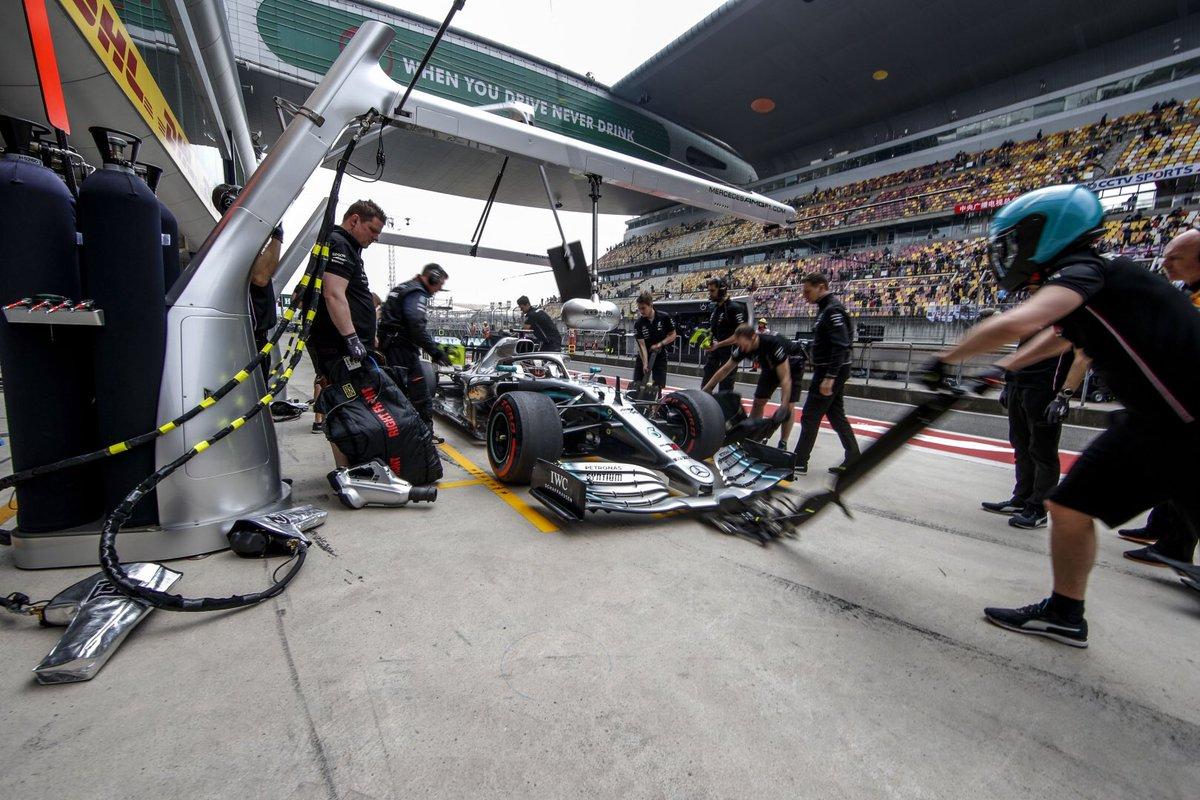 La bataille s'annonce serrée entre Mercedes et Ferrari en Chine