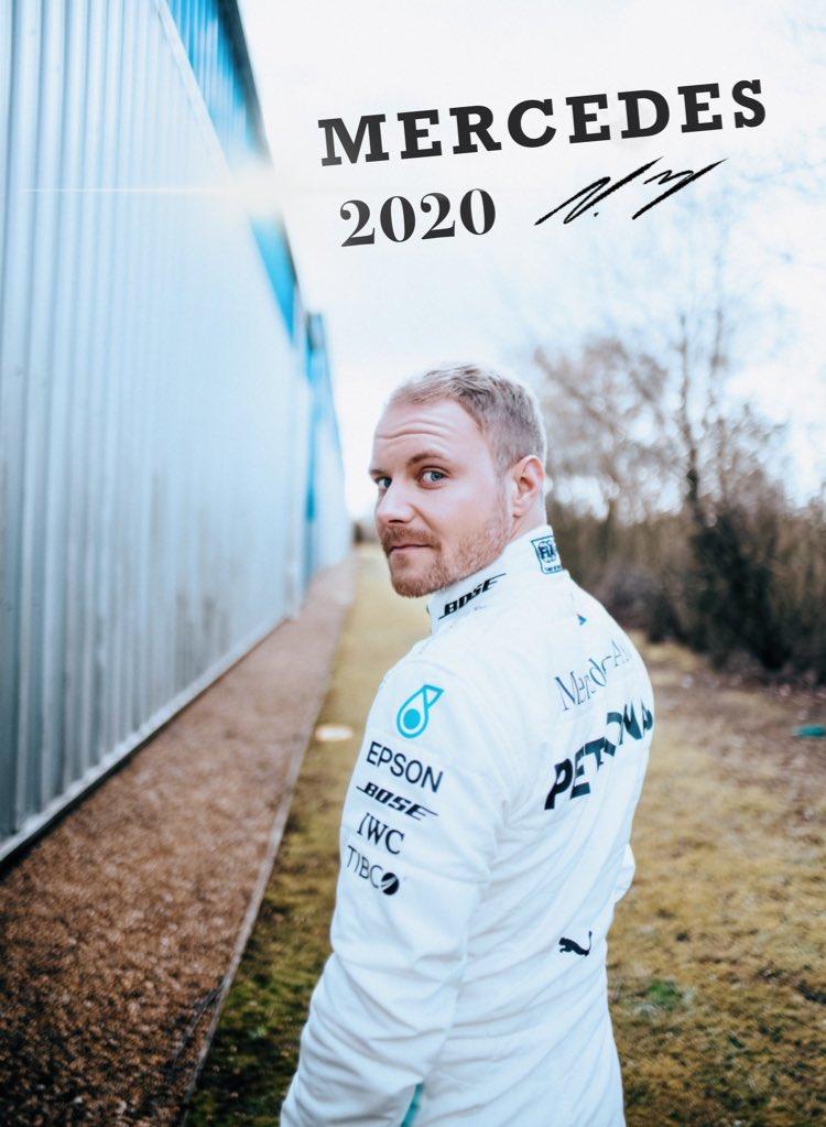 Bottas restera chez Mercedes en 2020