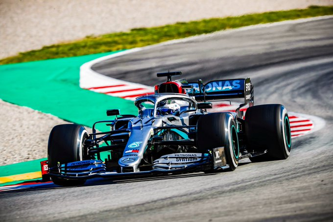Barcelone J3: Bottas confirme la domination des Mercedes