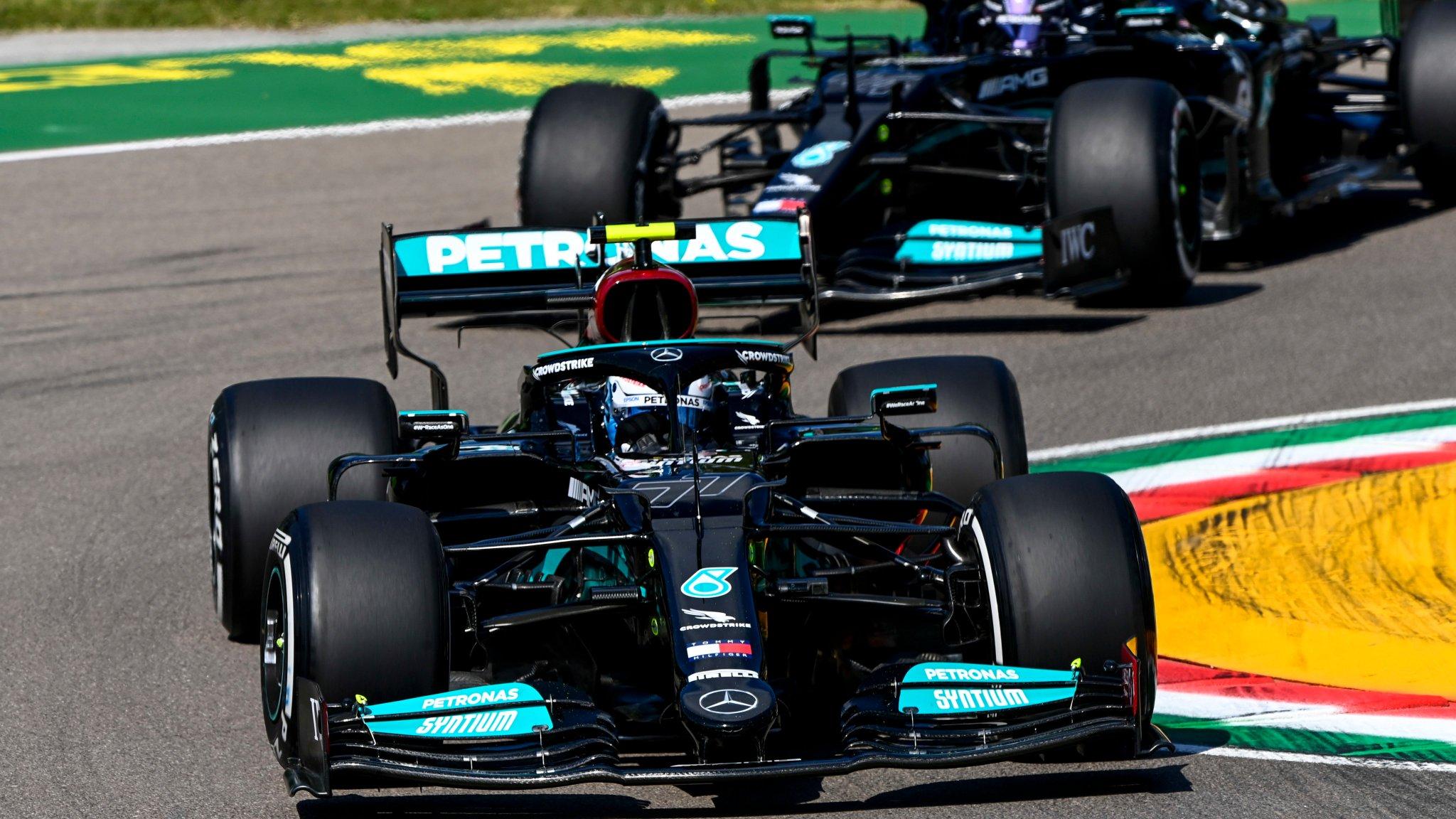 Bottas et Mercedes dominent les essais libres du vendredi