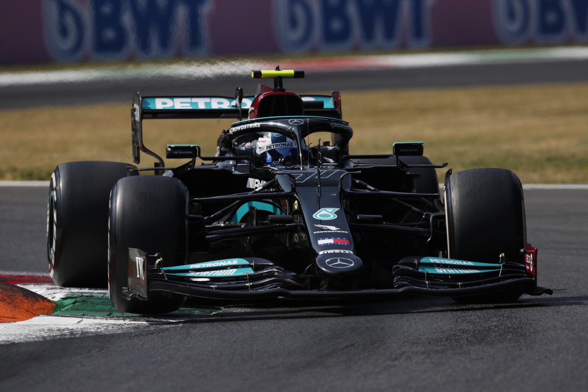 Bottas remporte la qualification sprint