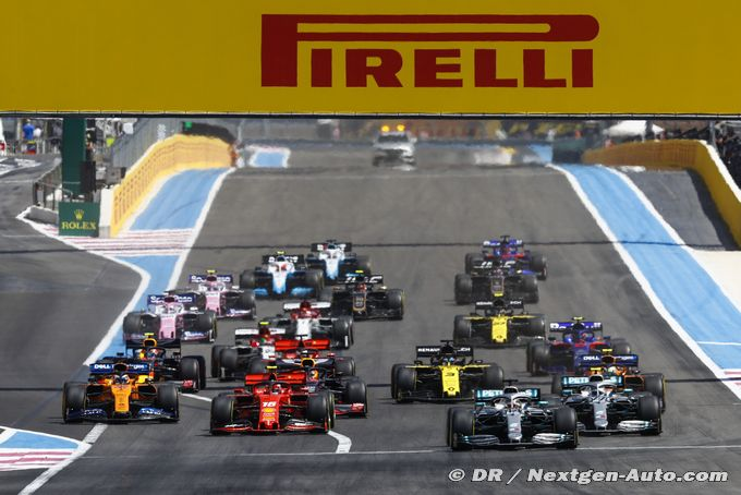 La FIA officialise le calendrier 2020