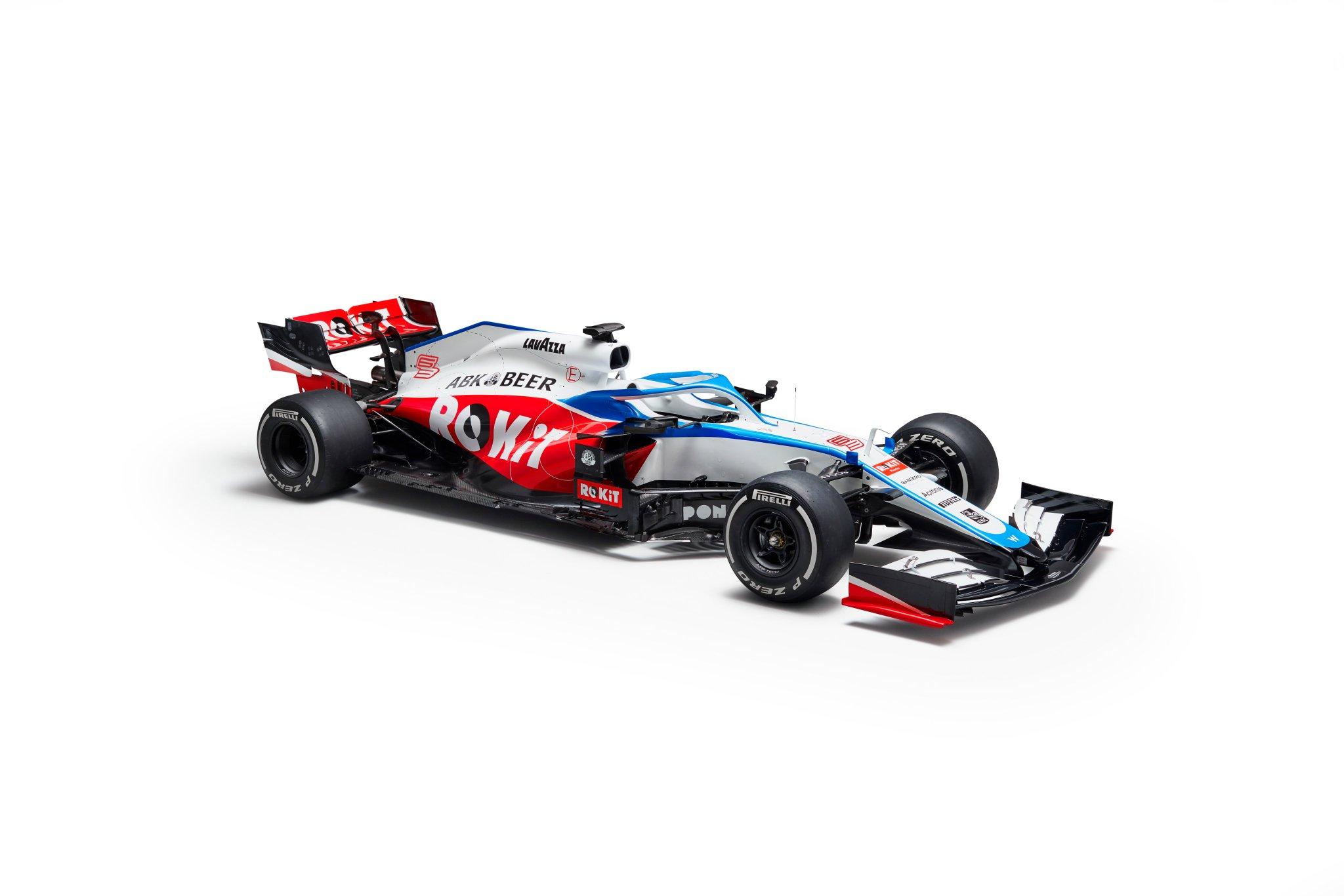 Présentation de la Williams FW43