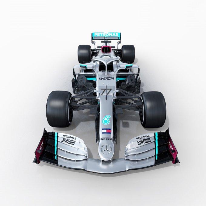Présentation de la Mercedes W11