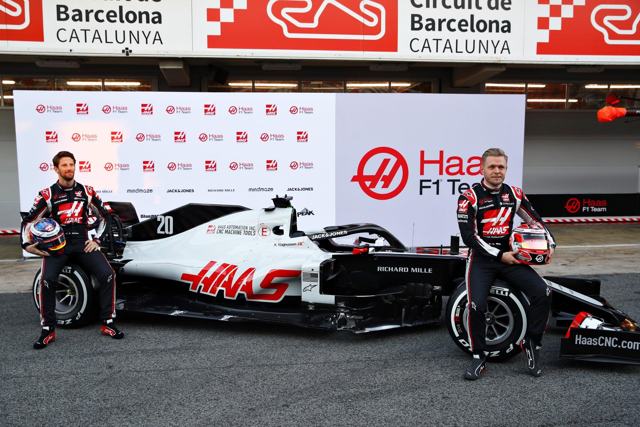 Présentation de la Haas VF-20