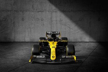 Renault F1 présente sa livrée officielle