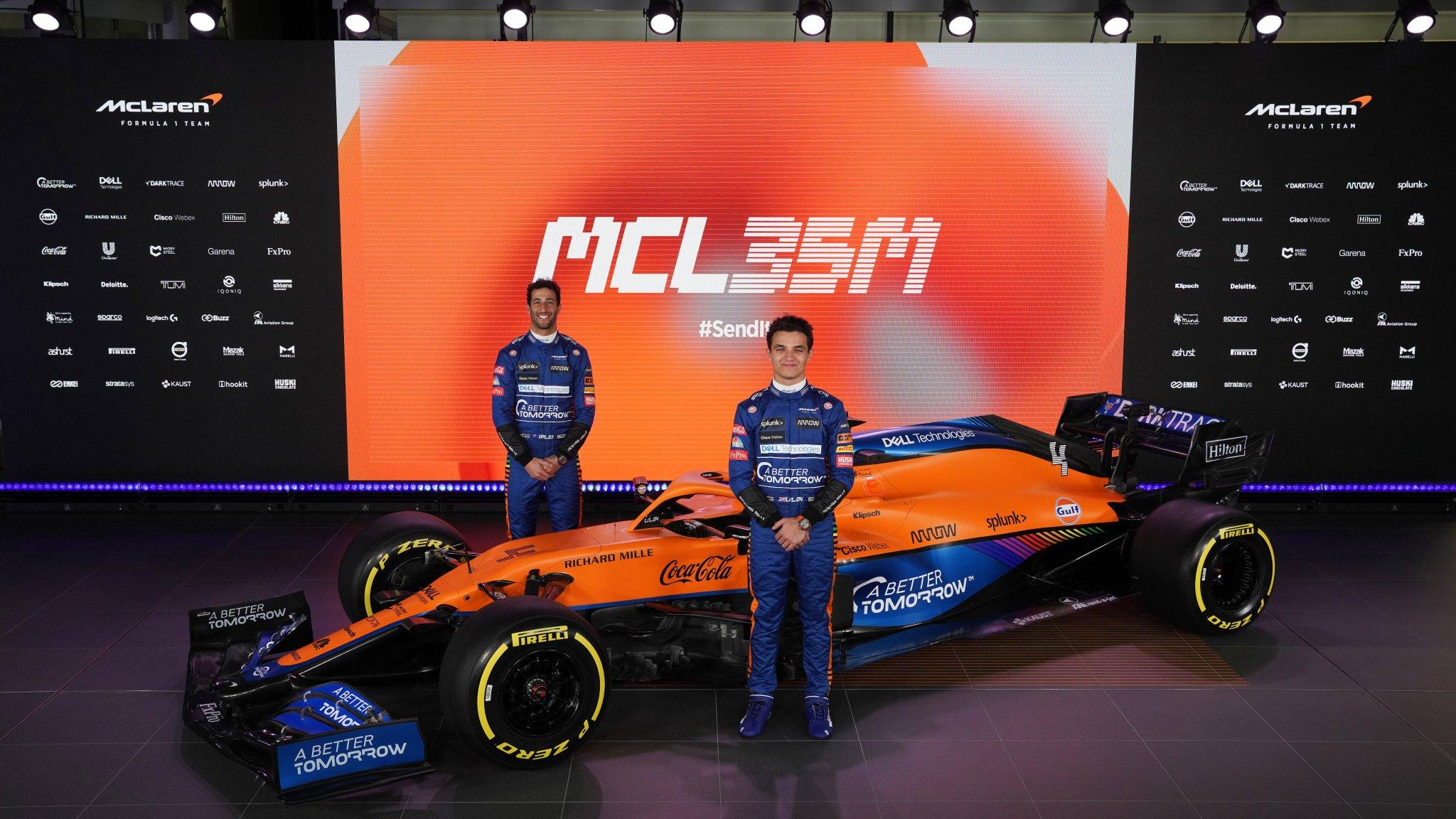 Présentation de la McLaren MCL35M