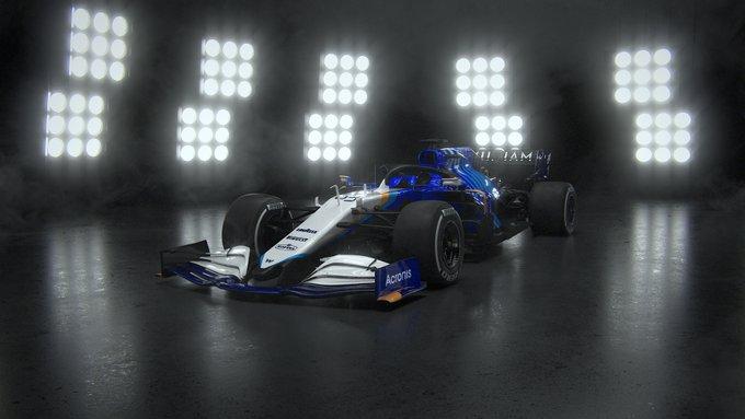 Présentation de la Williams FW43B