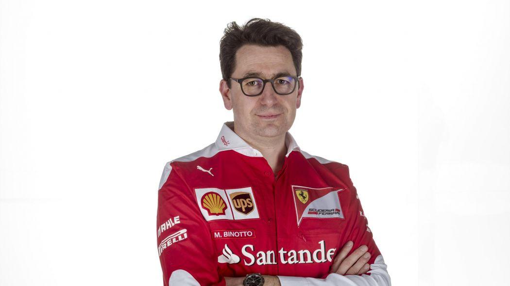 Mattia Binotto prend la tête de Ferrari