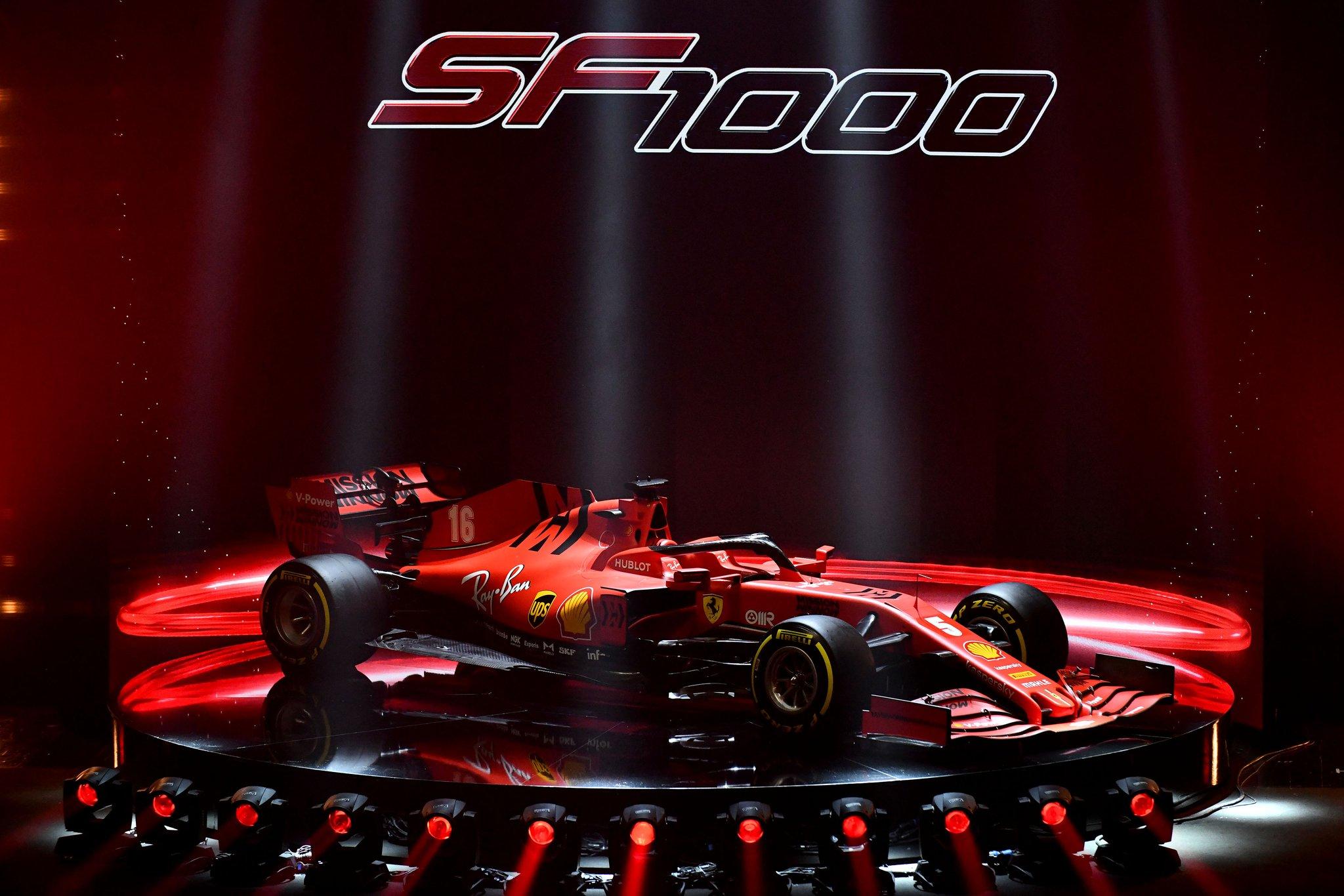 Présentation de la Ferrari SF1000