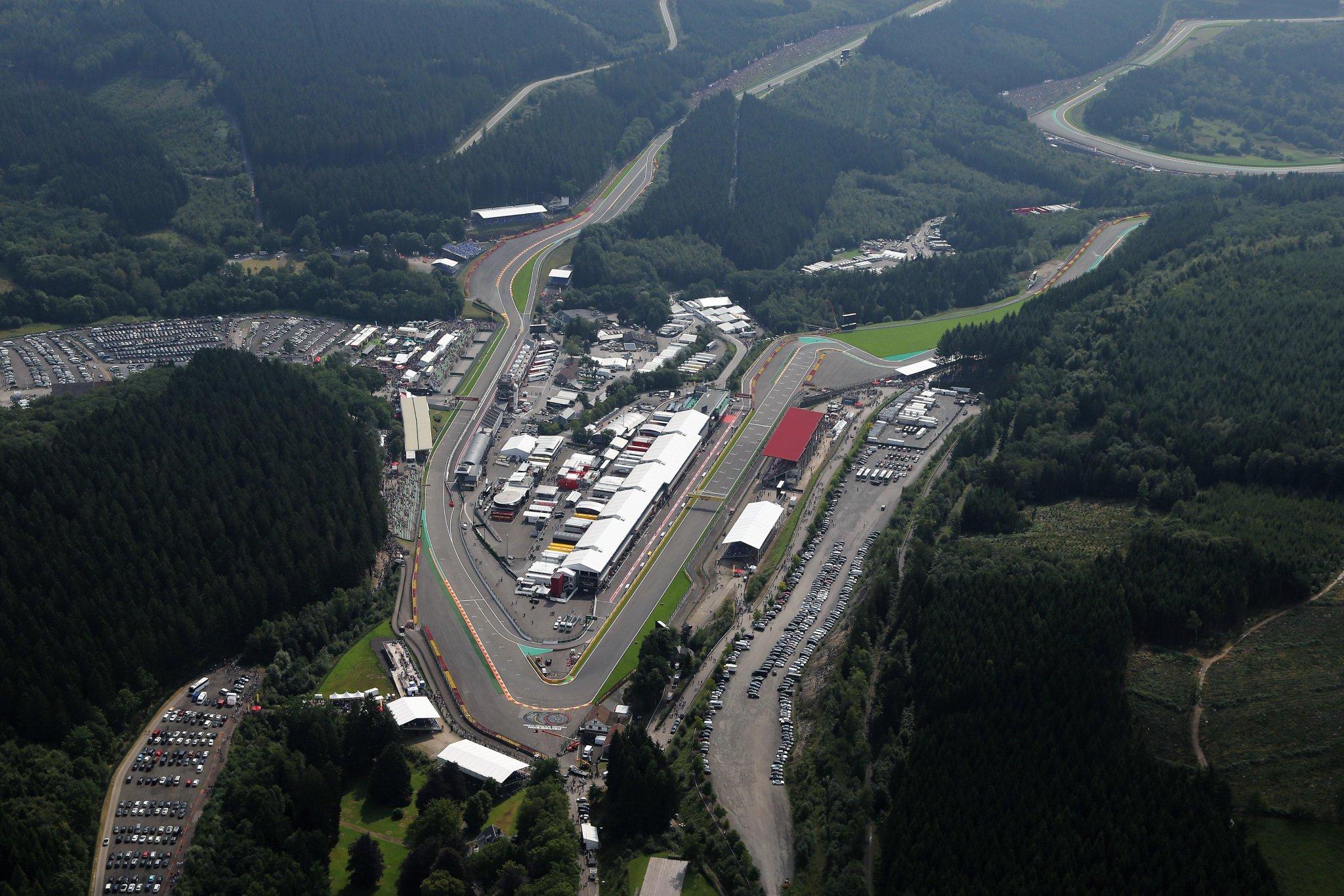 Présentation du Grand Prix de Belgique