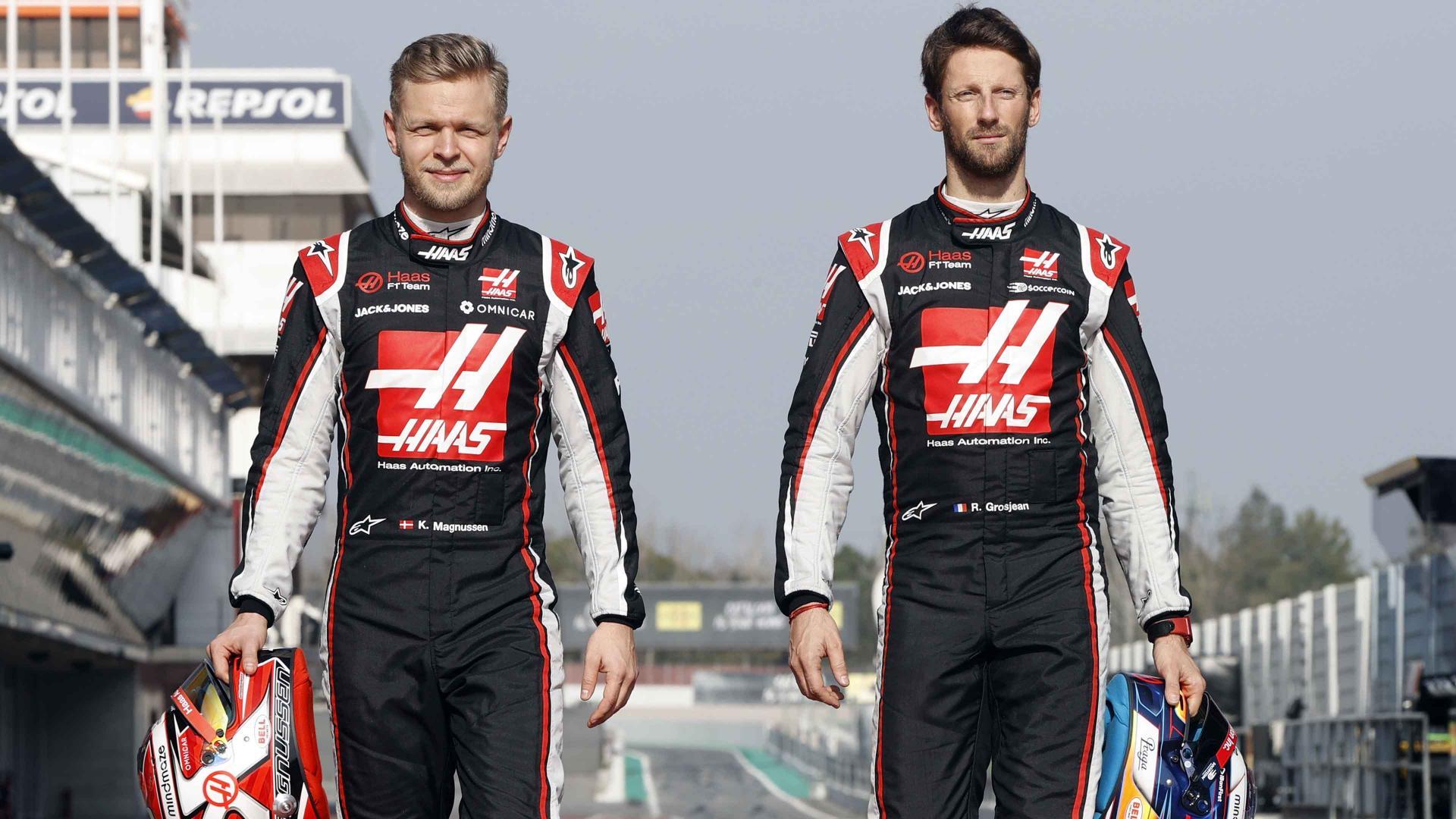 Haas se séparera de ses 2 pilotes en fin de saison