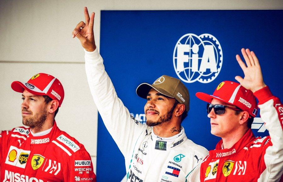 Hamilton signe la pole et se positionne pour le titre!