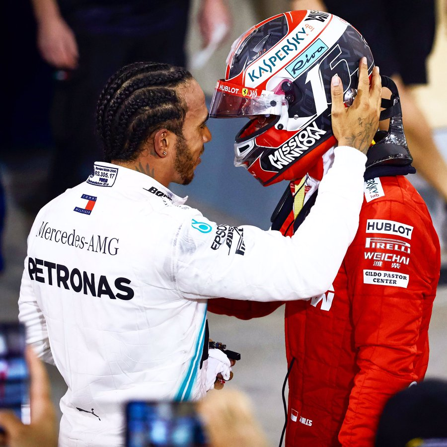 Leclerc laisse sa première victoire filer à Hamilton