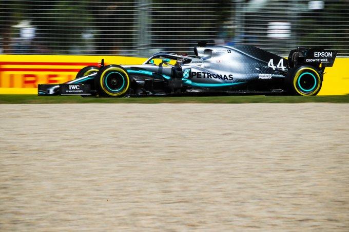 Lewis Hamilton signe le meilleur chrono des 2 séances d'essais libres