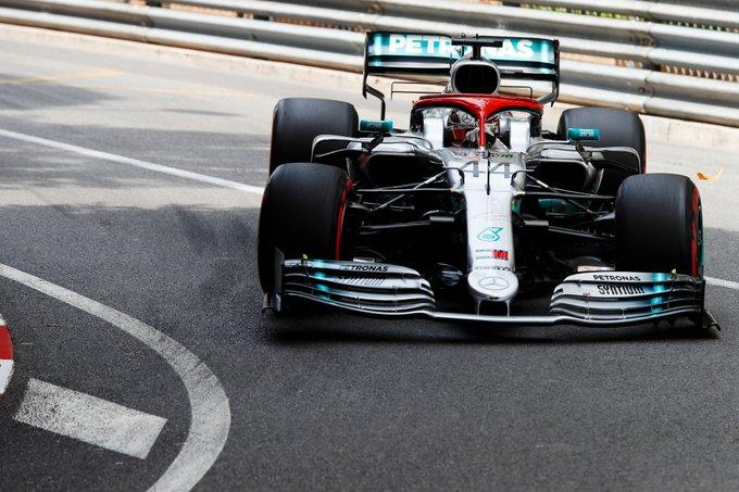 Hamilton signe sa 85ème pole à Monaco