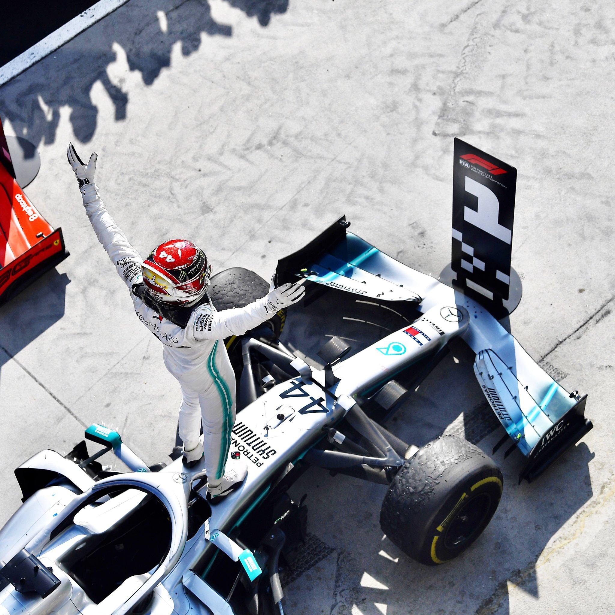 Hamilton s'impose en Hongrie grâce à une meilleure stratégie
