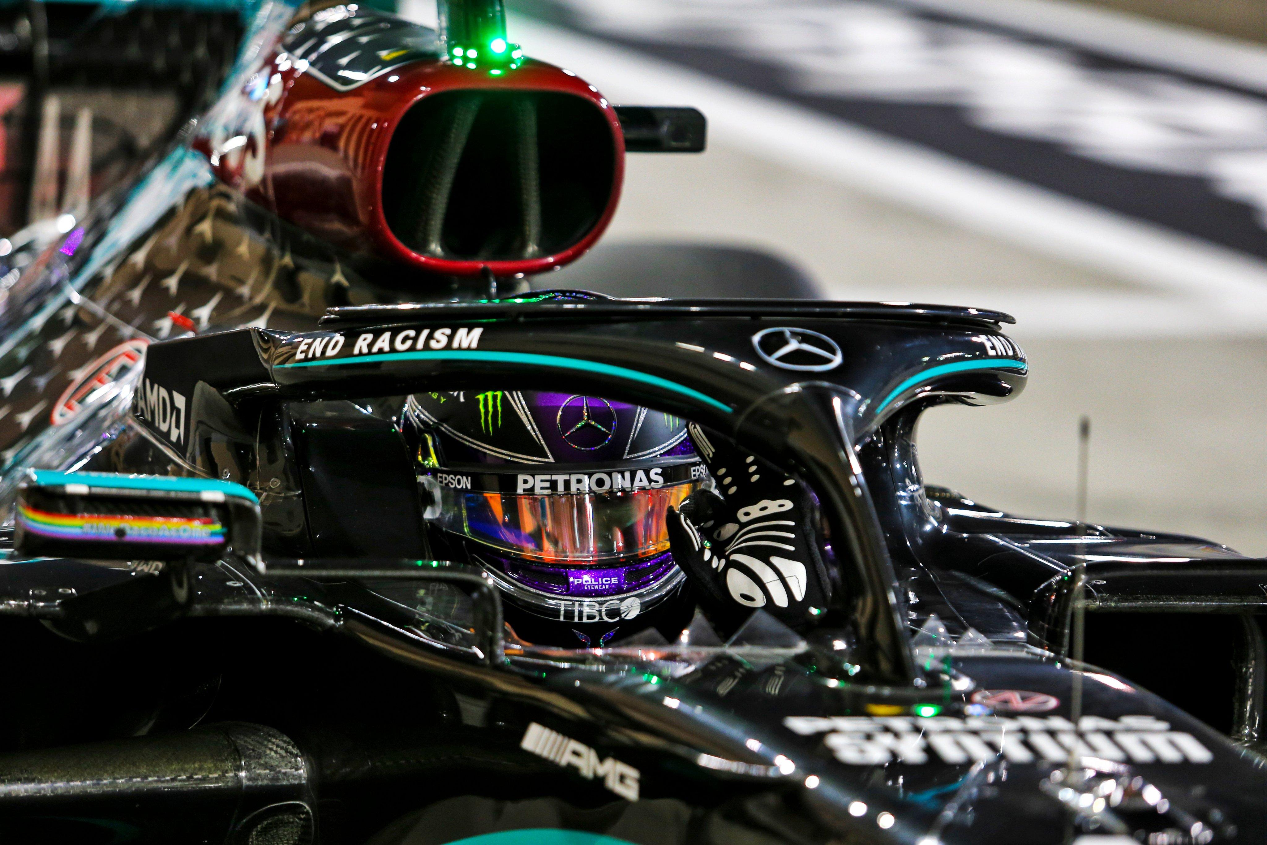 98ème pole pour Hamilton à Bahrein
