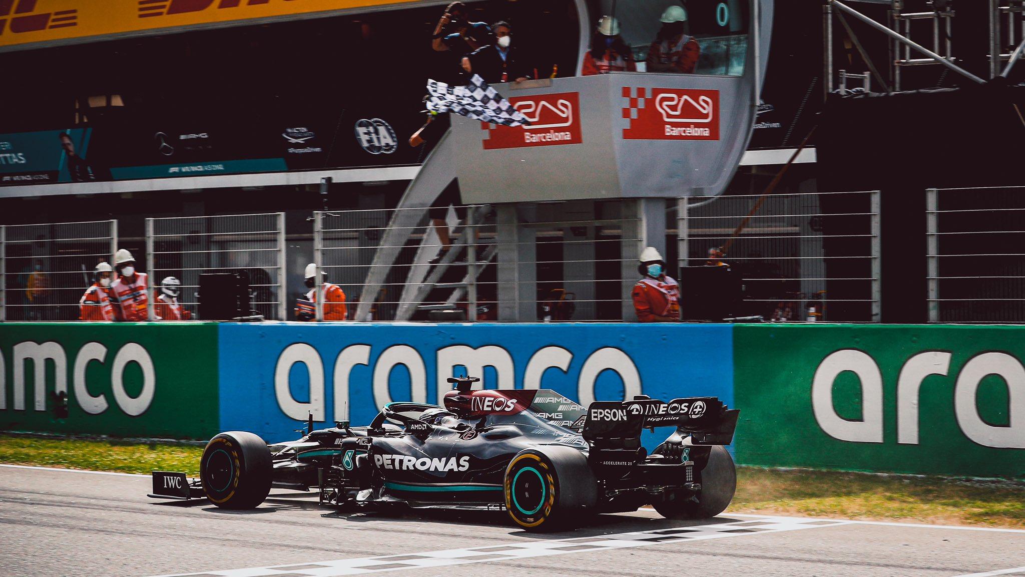 Une stratégie brillante qui permet à Hamilton de gagner
