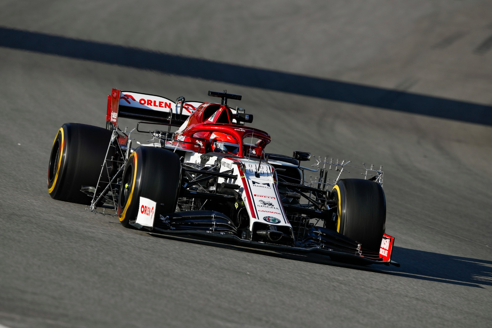 Barcelone J4: Kubica débute bien la semaine