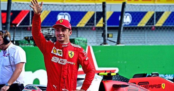 Nouvelle pole pour Leclerc à Monza