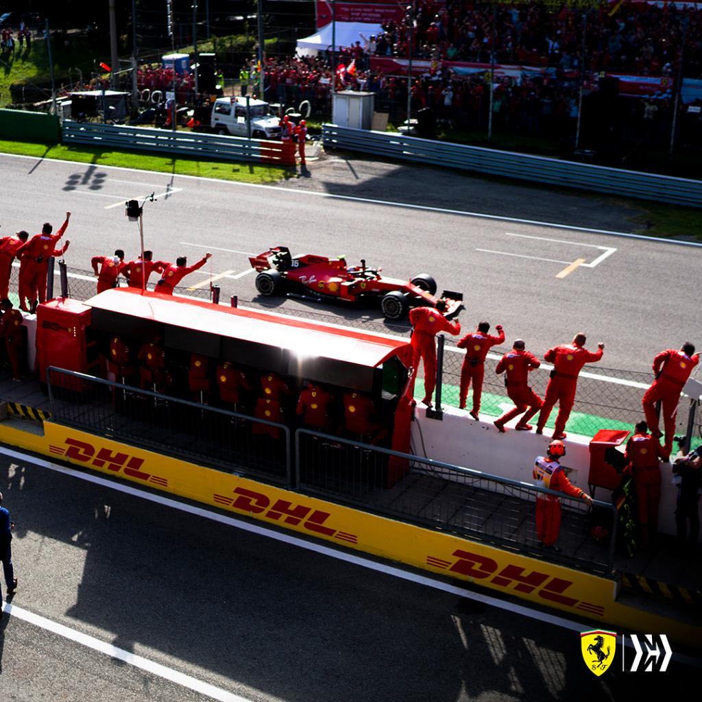 Leclerc gagne devant les tifosi