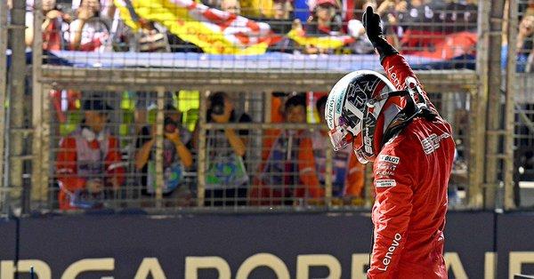 3ème pole consécutive pour Leclerc à Singapour