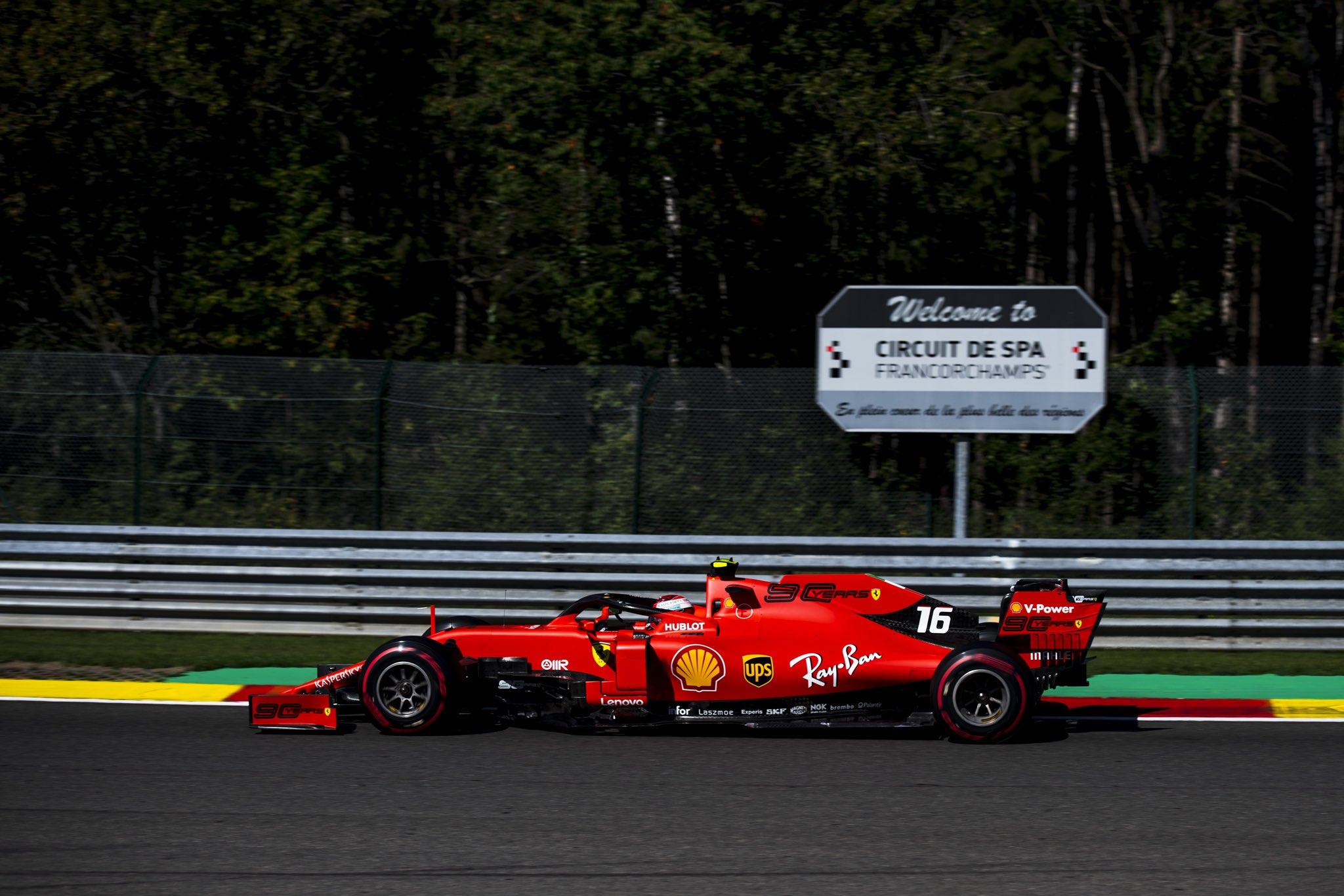 Les Ferrari de retour à Spa?