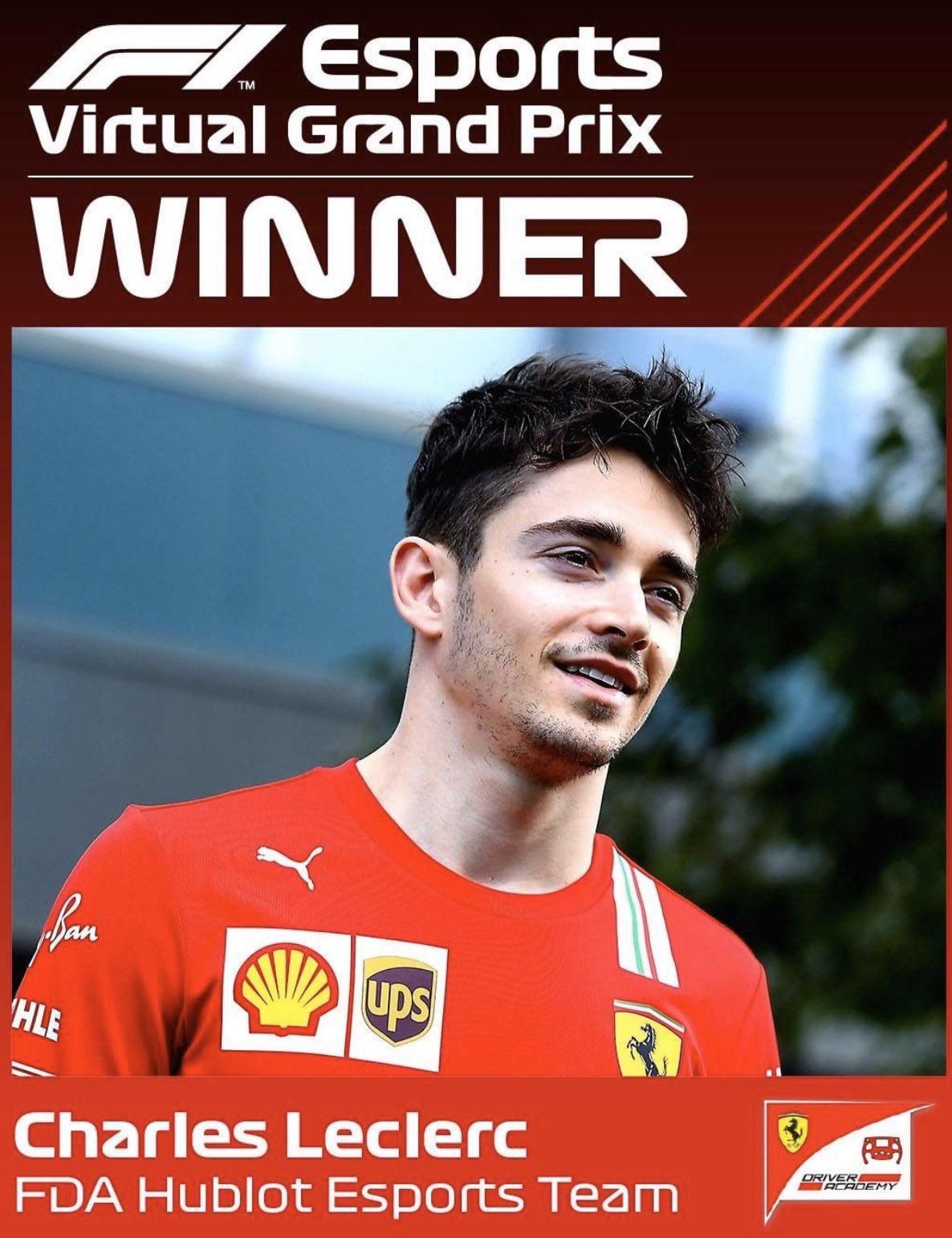 Charles Leclerc remporte le Grand Prix d'Australie virtuel