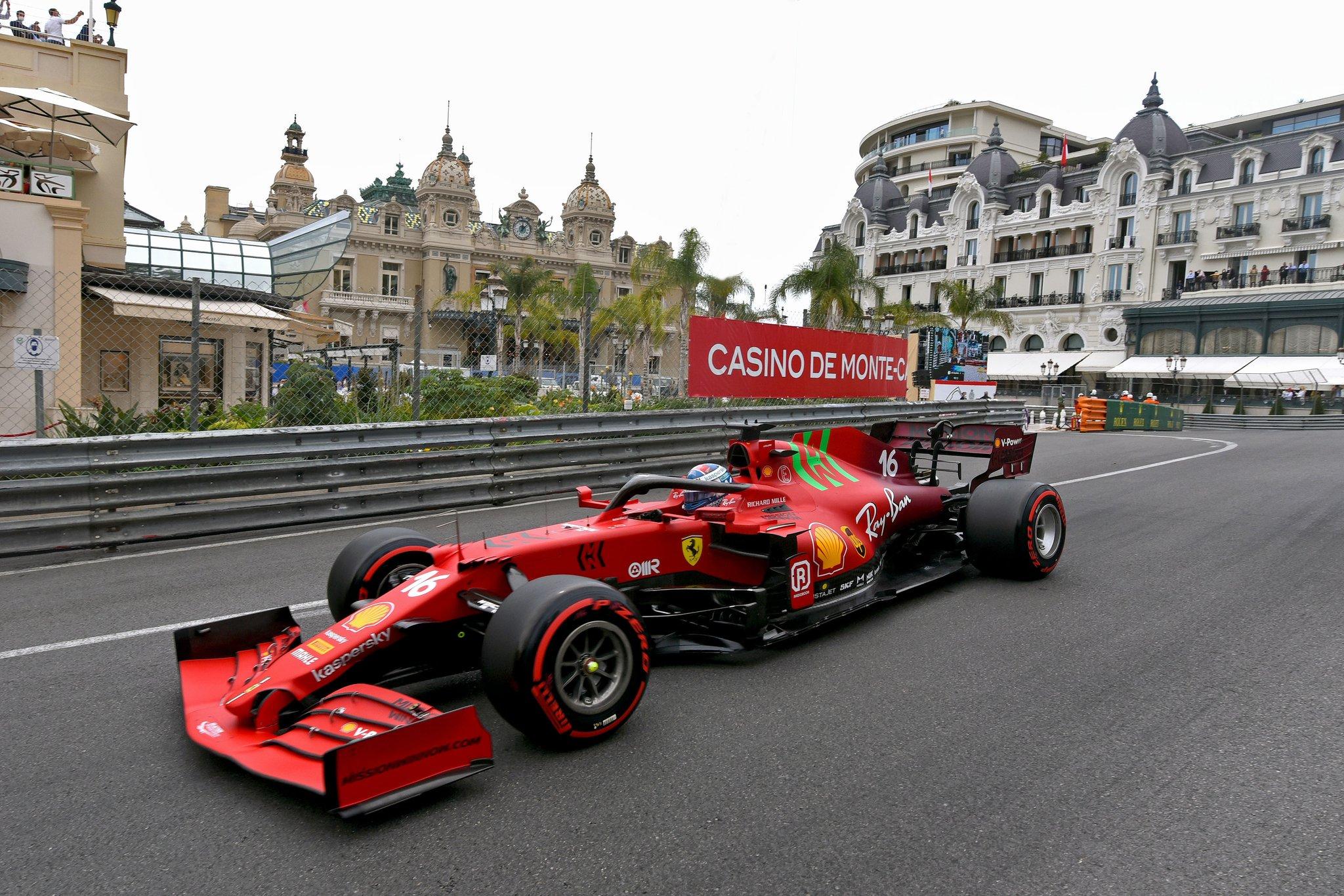 Leclerc signe la pole juste avant de se prendre le mur
