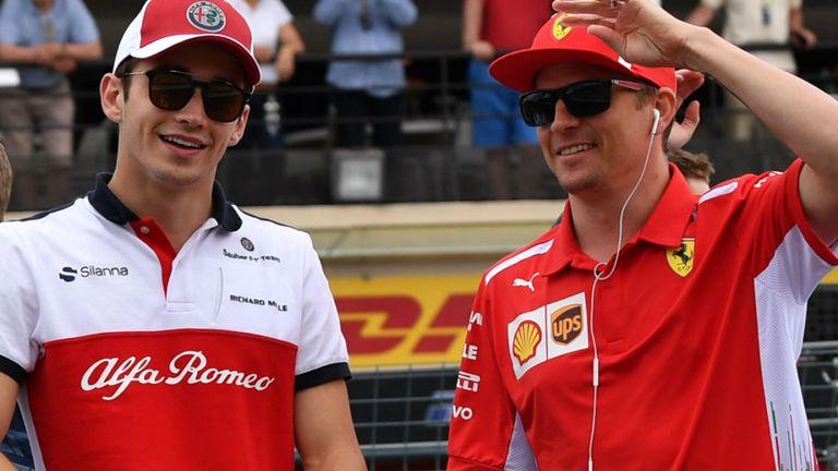 Raikkonen et Leclerc échangeront leurs baquets en 2019