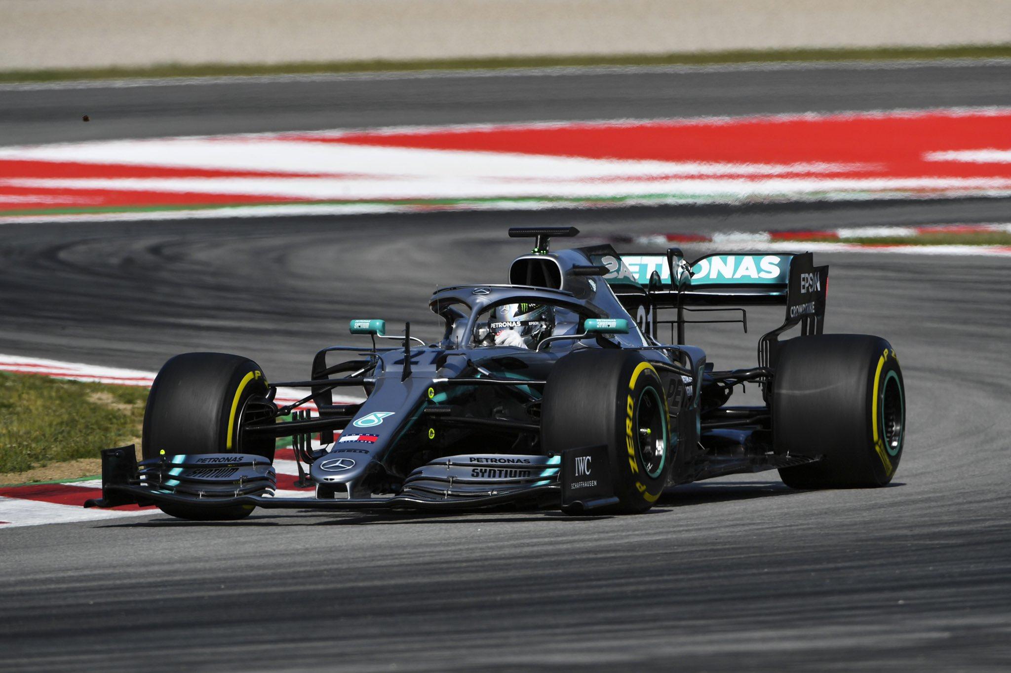 Barcelone J2: Mazepin au top pour sa première avec Mercedes