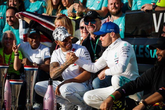 Bottas remporte la victoire, Hamilton le titre!