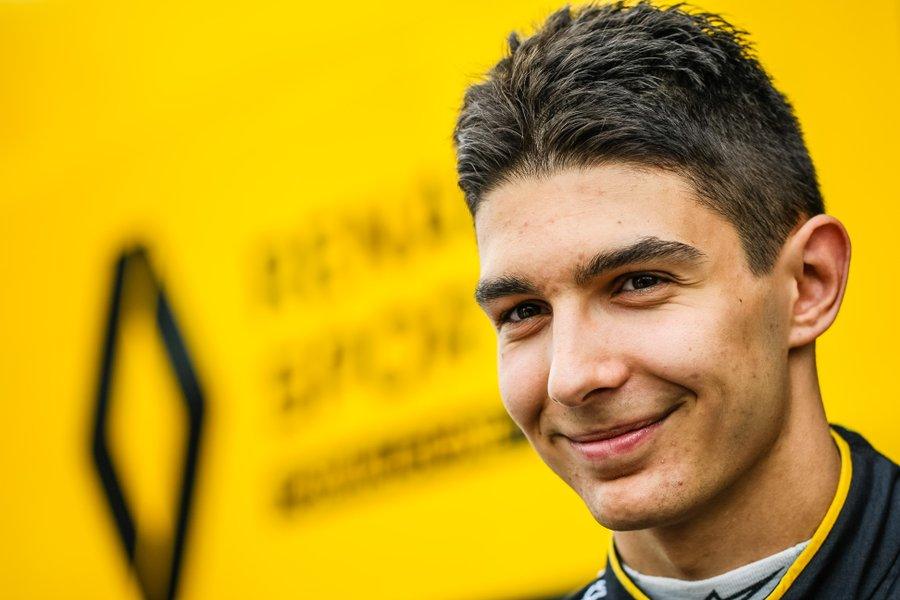 Renault confirme la signature avec Esteban Ocon