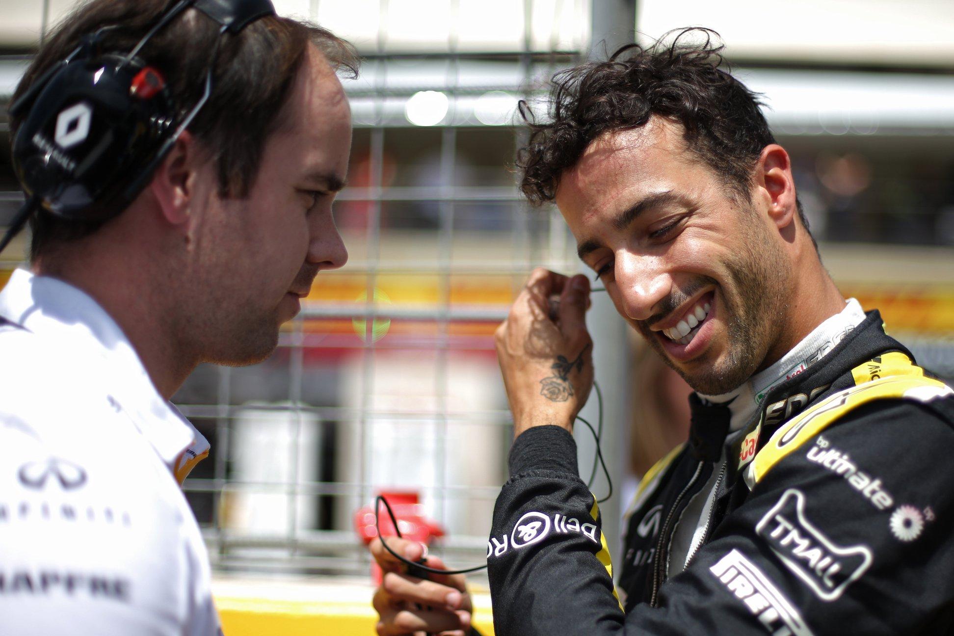 Ricciardo, pénalisé, est classé hors des points