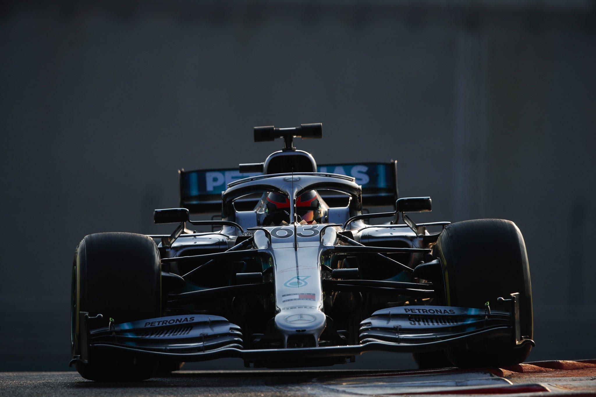 Tests Abu Dhabi J2: Russell en tête