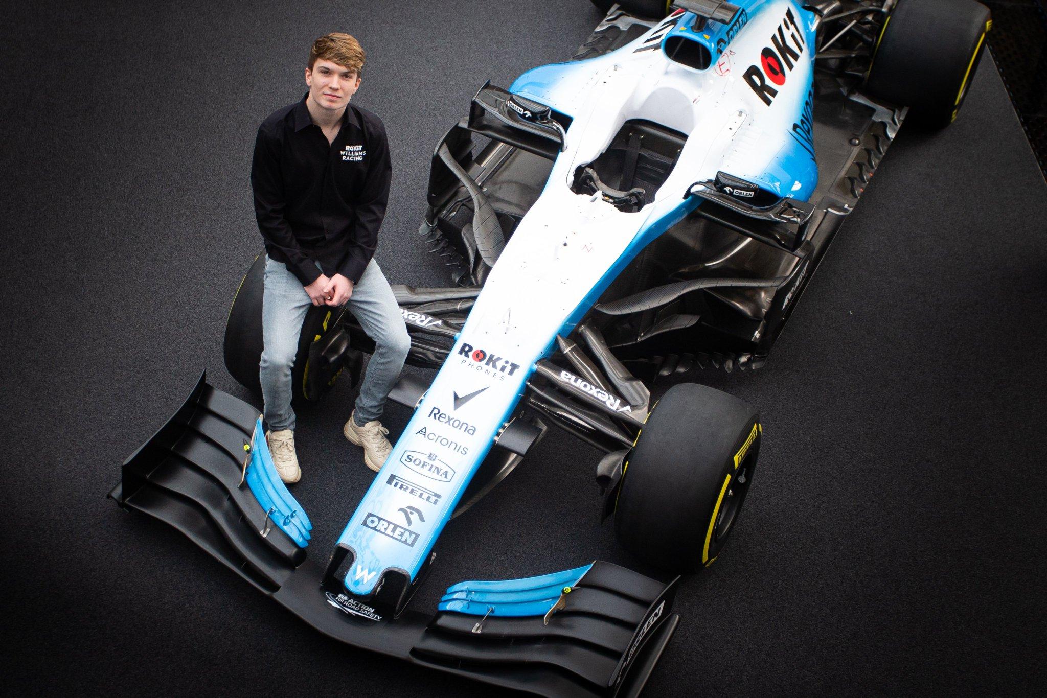 Dan Ticktum rejoint le programme jeunes chez Williams