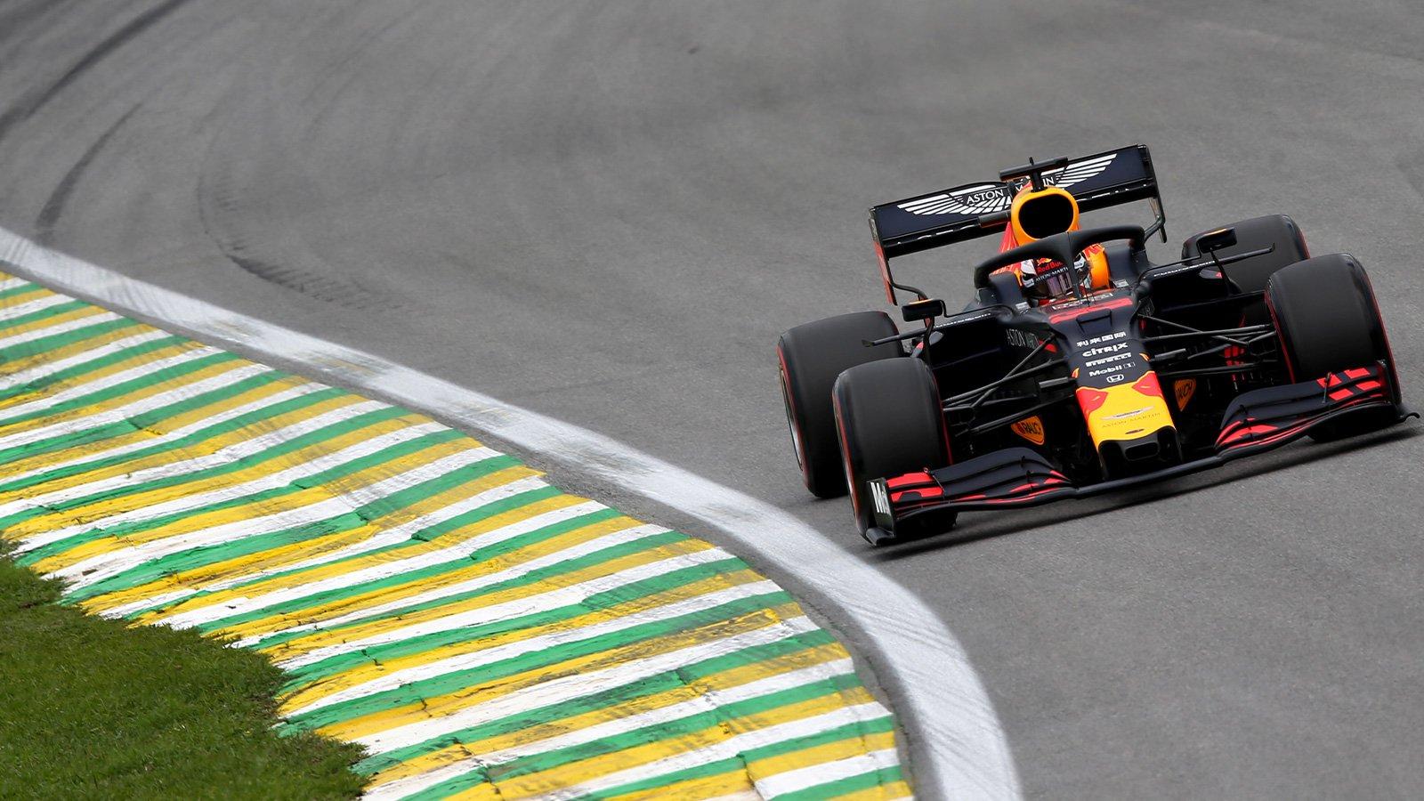 Verstappen en pole au Brésil