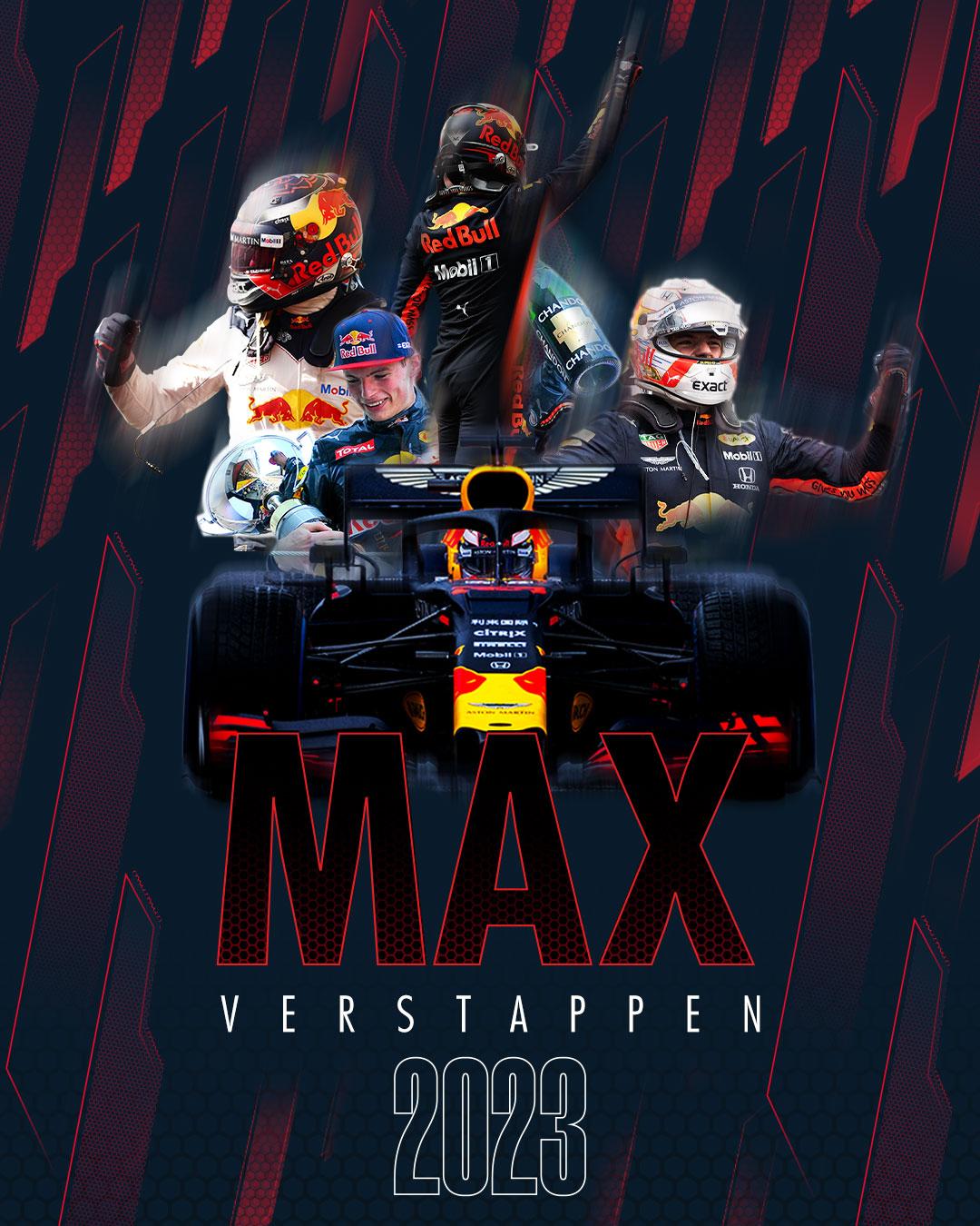 Max Verstappen prolonge pour 3 ans avec RedBull