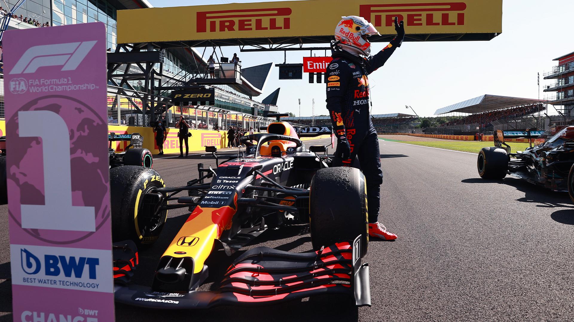 Verstappen remporte la qualification sprint