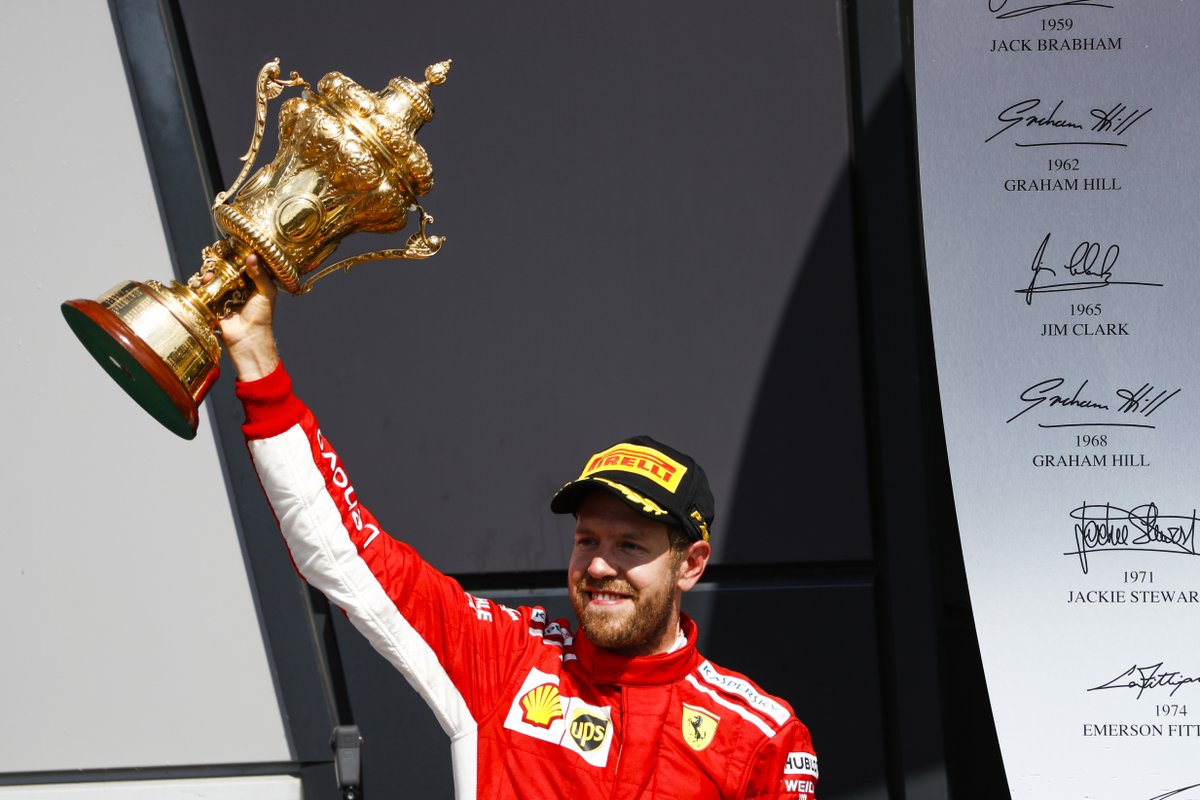Vettel remporte le Grand Prix de Grande-Bretagne