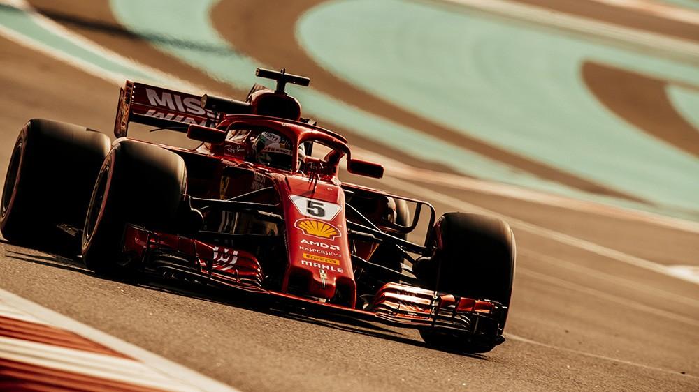 Yas Marina J1: Vettel en tête