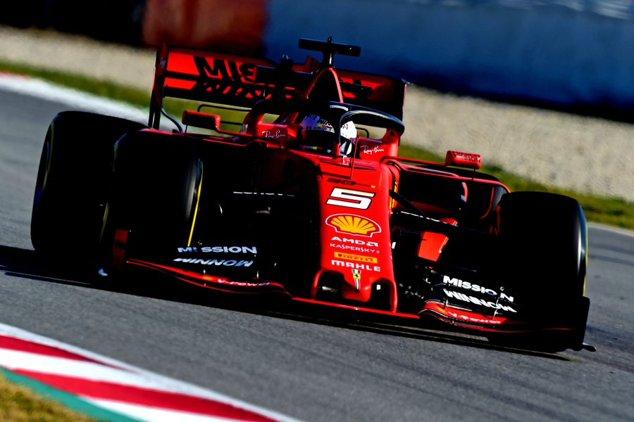 Barcelone J8: Vettel conclut en tête