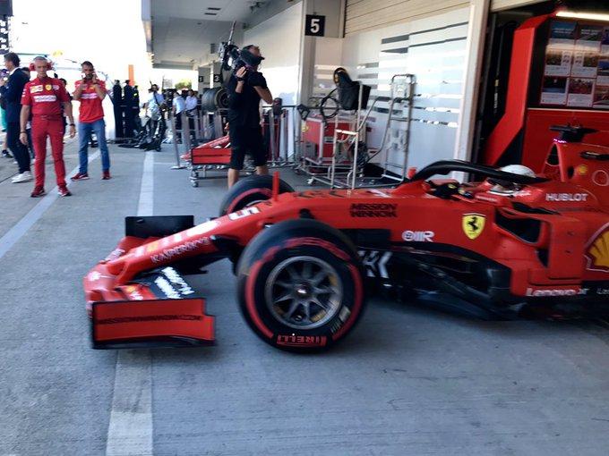 Pole de Vettel, 1ère ligne Ferrari au Japon